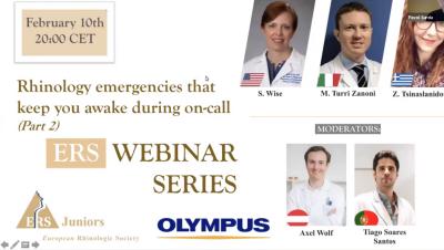 Rhinology emergencies that keep you awake during on-call (Part 2)